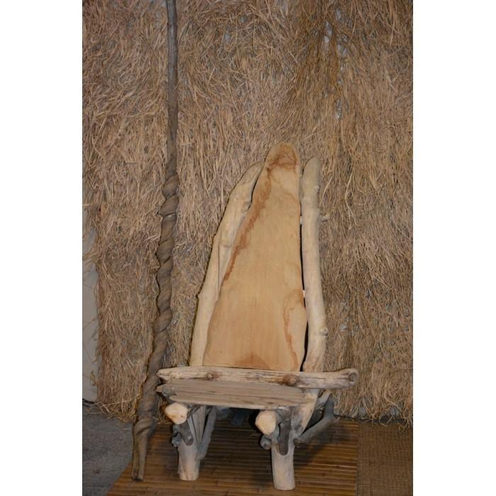 Chaise stol - Chaise bois flotte ...