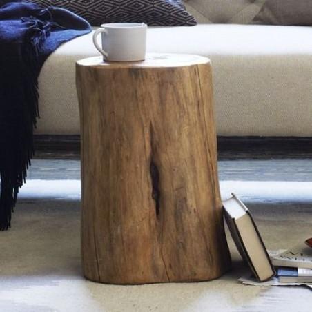 Rondin de bois Naturel diam 27/32 cm