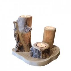 Conjunto de 3 candelabros TRIO
