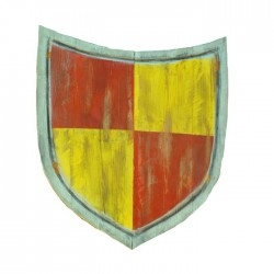 Shield of the knight Agravain