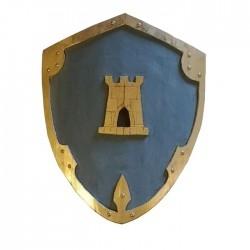 Mittelalterlicher Holzschild