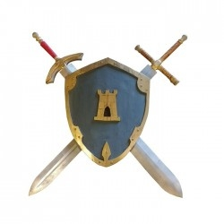 Knight Tristan's Shield and...