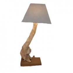 Lampe en bois flotté ILARGIA