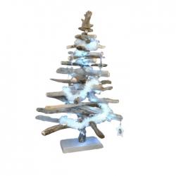 Sapin de Noël 150 cm Bois...
