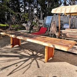 """Table Sequoia 4m """"Live Edge"""""""