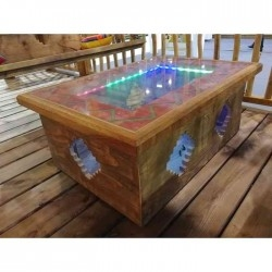 table basse mexicaine