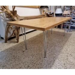 Table en Bambou