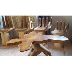 Table racine en Suar