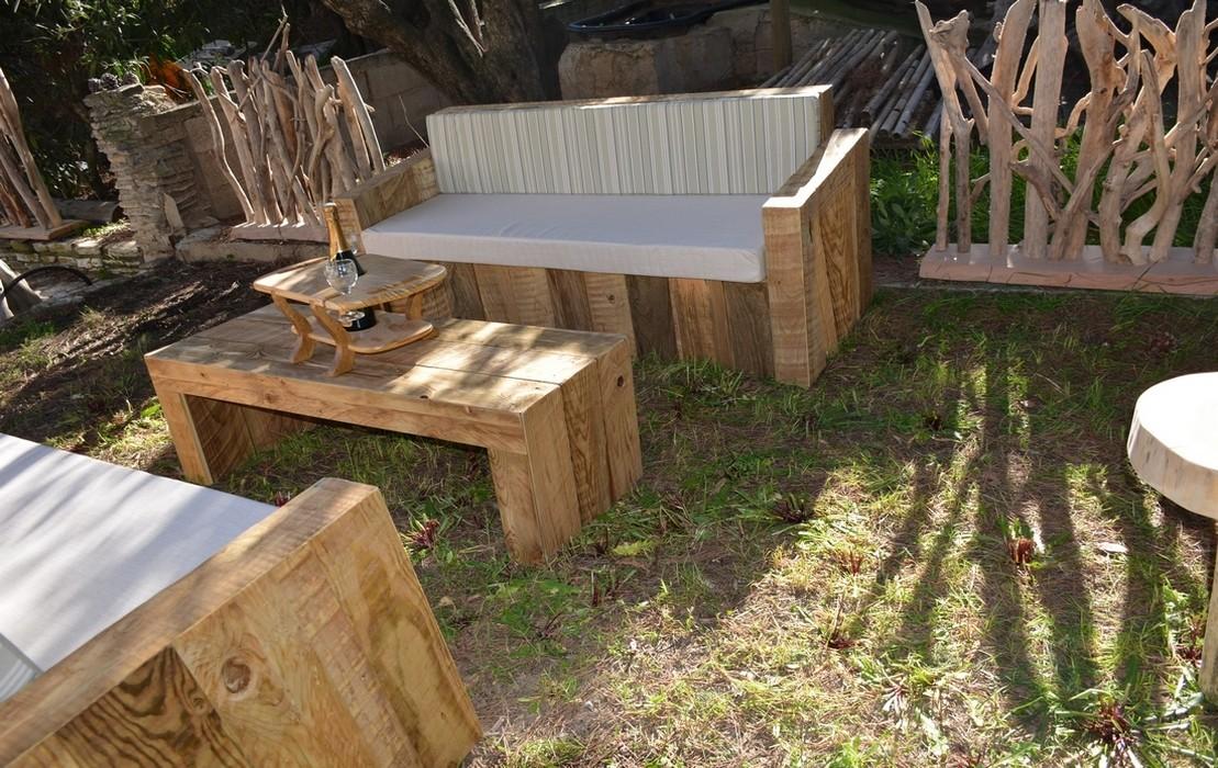 Raw plank furniture